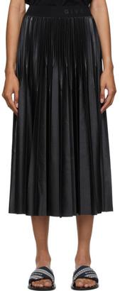 Givenchy Black Pleated Mid-Length Skirt