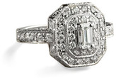 Penny Preville Emerald Cut Ring, Size 7
