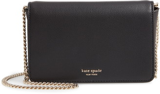 Kate Spade Sylvia Leather Wallet On A Chain