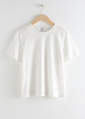 And other stories Organic Cotton T-Shirt