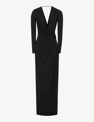 Reiss Lillian woven maxi dress