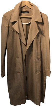 Amanda Wakeley Brown Cotton Coat for Women