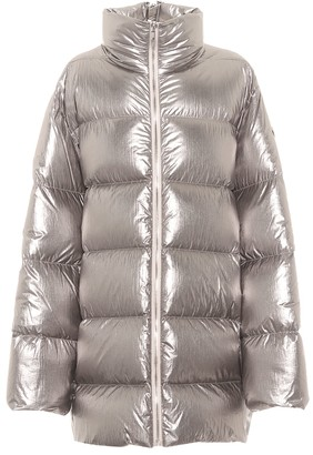 Rick Owens x Moncler Cyclopic quilted down coat