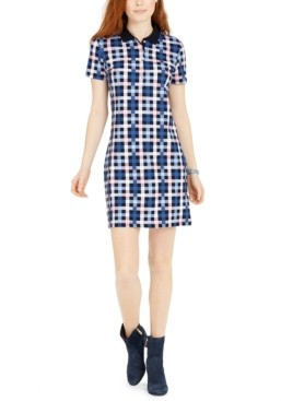 Tommy Hilfiger Plaid Polo Dress