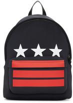 Givenchy Black Stars & Stripes Backpack