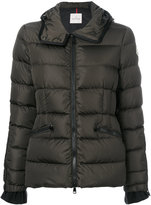 Moncler hooded padded jacket - women - Feather Down/Polyamide - 0