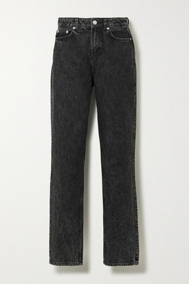 Ganni High-rise Straight-leg Jeans