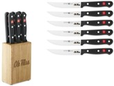 Wusthof Gourmet 6-Piece Collegiate Steak Knife Block Set