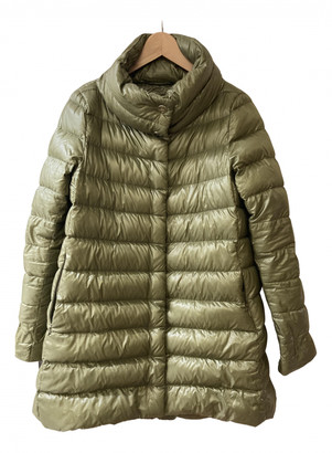 Herno Green Polyester Coats