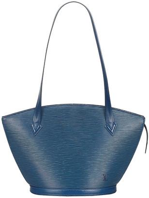 Louis Vuitton Toledo Blue Epi Leather Saint Jacques PM Long Strap