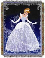 Cinderella Northwest Co. Entertainment Disney Princess Sparkles Tapestry Throw