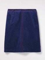 White Stuff Haruki Plain Velvet Skirt