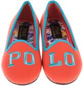 Polo Ralph Lauren Neon Melon & Turquoise Jayde II Loafer - Little Kid & Big Kid