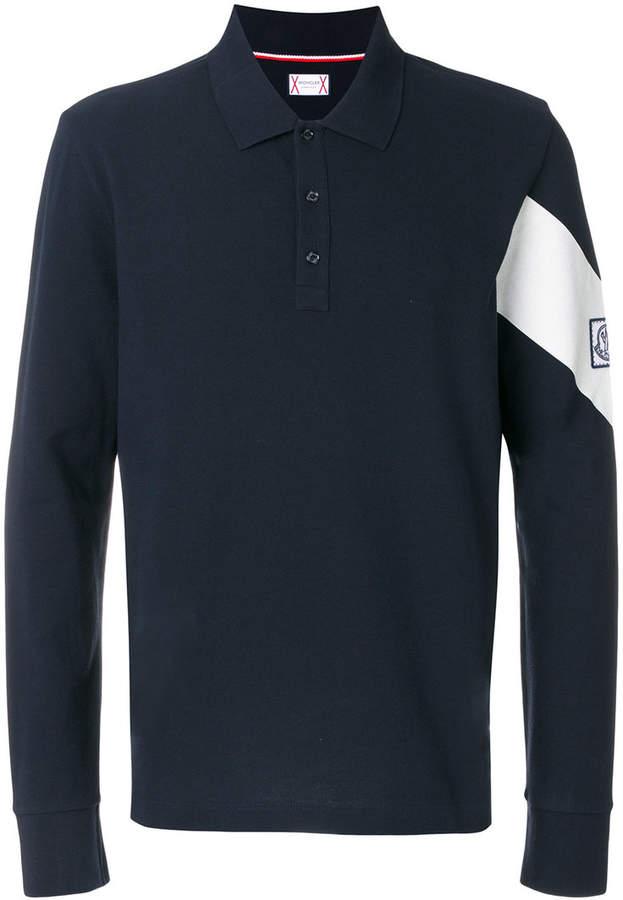 Moncler Gamme Bleu longsleeved polo shirt