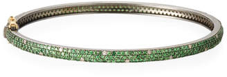 Siena Jewelry Tsavorite & Scattered Diamond Bracelet