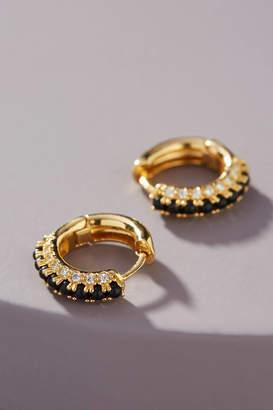Anthropologie Barnet Huggie Hoop Earrings