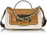 Pierre Hardy Alpha Plus Colorblock Leather Satchel Bag