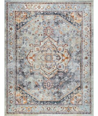 Bungalow Rose Jamilee Gray Rug Rug Size: Rectangle 6'7'' x 9'6''