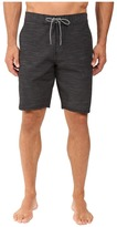 VISSLA Fin Box 4-Way Stretch Heathered Boardshorts 20""