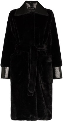 Stand Studio Pamella faux fur coat