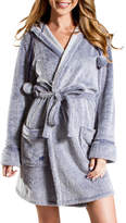 PJ Salvage Denim Blues Plush Robe