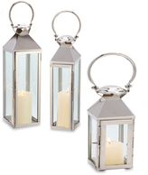 Cambridge Silversmiths Classic Lantern Candle Holder in Nickel