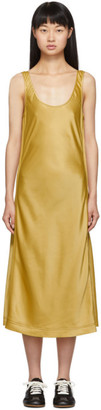 Acne Studios Gold Darpana Dress