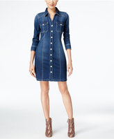 INC International Concepts Curvy-Fit Denim Dress, Only at Macy's