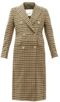Giuliva Heritage Collection The Cindy Gunclub Check Wool Overcoat - Womens - Beige Multi