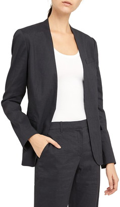 Theory Staple Linen Blend Blazer