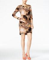 Thalia Sodi Keyhole Faux-Wrap Dress, Only at Macy's