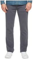 J Brand Kane Straight Leg French Terry in Keckley Soot Men's Jeans