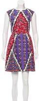 Peter Pilotto Silk Digital Print Dress