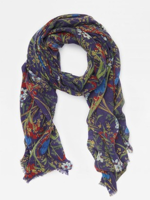 J.Mclaughlin Reed Scarf in Midnight Floral