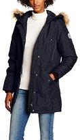 Vero Moda Women's VMPOLAR ARCTIC 3/4 PARKA DNM A Coat,34 (Manufacturer size: X-Small)