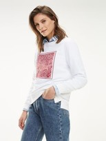 Tommy Hilfiger Graphic Print Relaxed Fit Sweatshirt