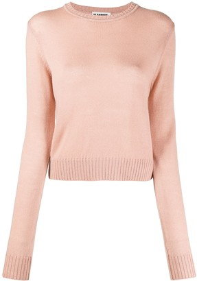 Jil Sander Long-Sleeve Wool Jumper