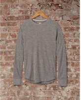 Express soft waffle knit crew neck tee