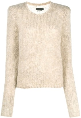 Isabel Marant Crew-Neck Knitted Jumper