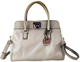 Michael Kors Astrid Grey Leather Handbags