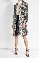 Nina Ricci Printed Coat with Silk
