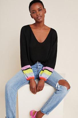 Neva Scoop Neck Sweater By Veroalfie in Assorted Size XS