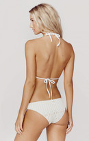 Nightcap Clothing spiral lace brazillian bottom