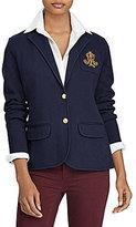 Lauren Ralph Lauren Bullion-Crest Sweater Blazer