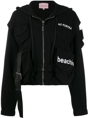 Natasha Zinko NZ Kurtka print hooded jacket