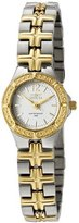 Invicta Women's 0130 Wildflower Collection 18k Gold-Plated and Stainless Steel Watch