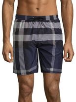 Burberry Gowers Plaid Shorts