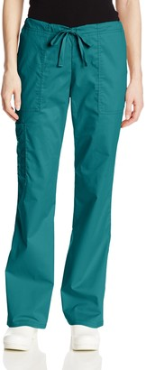 Cherokee Women's Tall Workwear Scrubs Core Stretch Drawstring Cargo Pant