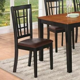 East West Furniture Nicoli Upholstered Dining Chair