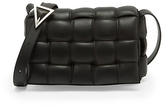Bottega Veneta The Cassette Padded Leather Crossbody Bag